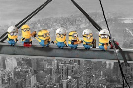 Despicable Me - Minions Lunch On A Skyscraper