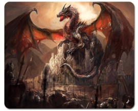 Dragons - A Castle Conquered By A Dragon