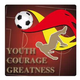 Fußball - Youth Courage Greatness