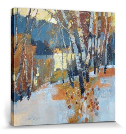 Forests - Birch, Frost And Winter Lake, Chris Forsey