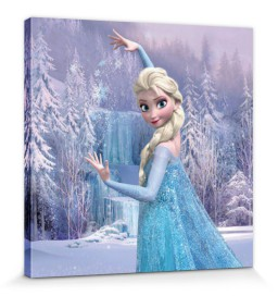 Frozen - Elsa The Snow Queen And Her Winter Forest
