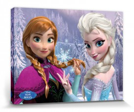 Frozen - Anna And Elsa In The Woods