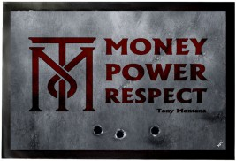 Scarface - Money, Power, Respect, Tony Montana - Door Mats ...
