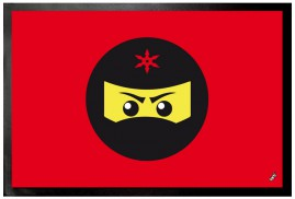Gaming - Ninja Icon, Rot