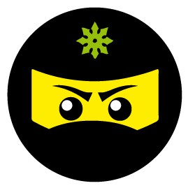 Gaming - Ninja Icon, Grün
