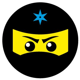 Gaming - Ninja Icon, Blau