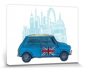 Voitures - Mini Londres, Barry Goodman