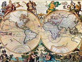 Historical Maps - World Map