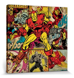 Iron Man - Squares, Marvel Comics