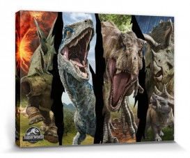 Jurassic World - Fallen Kingdom, Blue, Rexie, Lady Margaret And Bakhita