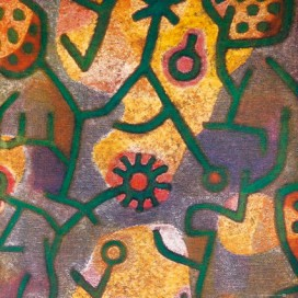 Paul Klee - Flora Am Felsen, 1940