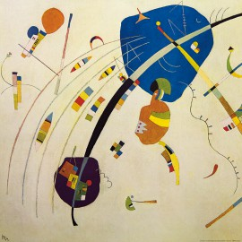 Wassily Kandinsky - Towards The Blue, 1939