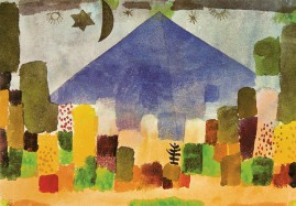 Paul Klee The Mountain Niesen Egyptian Night 1915 3