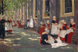 Max Liebermann - Free Period In The Amsterdam Orphanage, 1881-1882