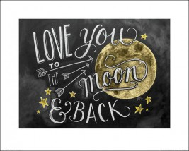 Liebe - Love You To The Moon And Back, Lily & Val