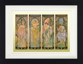 Alphonse Mucha - The Four Times Of Day, 1899