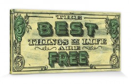 Geld - The Best Things In Life Are Free, Barry Goodman