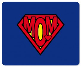 Muttertag - Super Mom Logo