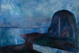 Edvard Munch - Sternennacht, 1893