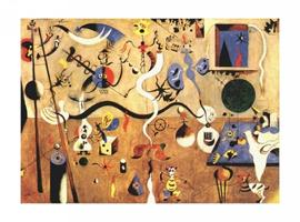 Joan Miró - The Carnival Of Harlequin, 1924-25