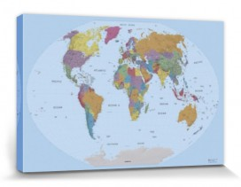 Maps - World Map, 2011 Edition, In English