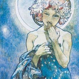 Alphonse Mucha - The Moon, 1902