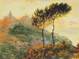 Claude Monet - Die Kirche In Varengeville, 1882