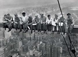 New York - Lunchtime Atop A Skyscraper, 1932