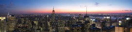 New York - Top Of The Rock NYC Panorama, Daniel Schwen