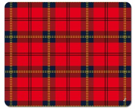 Patterns - Tartan Pattern Red