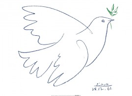 Pablo Picasso - Dove Of Peace, 1961