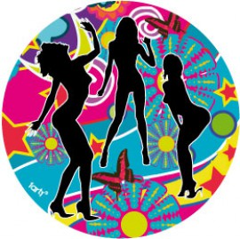 Pretty Girls - Silhouettes, Psychedelic Dance