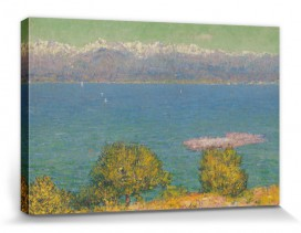 John Peter Russell - Landscape, Antibes, The Bay Of Nice, 1891