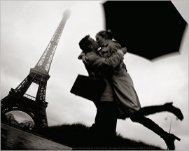 Paris - Couple At Eiffel Tower, Jean-Noël Reichel