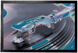 Record Players - Retro Style Blue And Green, Close-Up