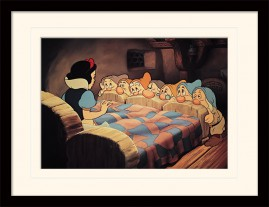 Snow White And The Seven Dwarfs - Bed