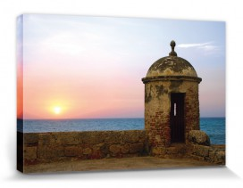 Sunsets - Ocean View From Historic Walled Fort