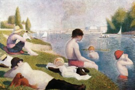 Georges Seurat - The Bathers Of Asnieres, 1884