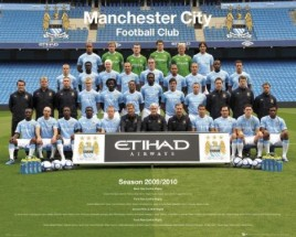 Football - F.C. Manchester City, Team 2010