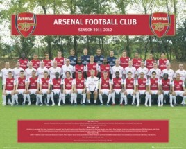 Football - Arsenal FC, Team Photo 11/12