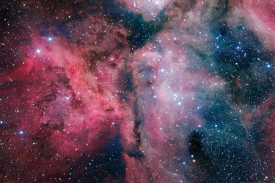 Space And Universe - Glowing Stardust And Cosmic Clouds