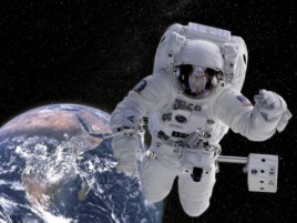 Space And Universe - Astronaut, Space Mission, 2 Parts