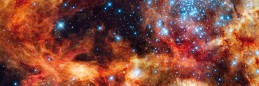 Space And Universe - Super Star Cluster R136 Near Tarantula Nebula
