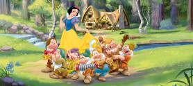 Snow White And The Seven Dwarfs - In The Woods