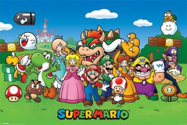 Super Mario - Princess Peach, Luigi And Other Characters
