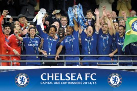 Fußball - Chelsea, Cup Winners Balcony
