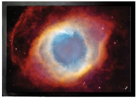 Space And Universe - The Helix Nebula, The Eye Of God