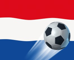 Football - Netherlands Country Flag