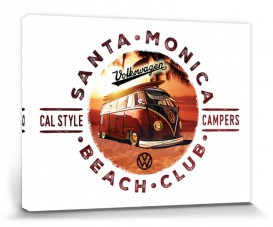 VW Volkswagen - Bus, Cal Style Campers, Santa Monica Beach Club