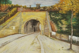 Vincent Van Gogh - Roadway With Underpass, The Viaduct, 1887